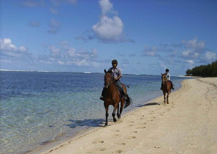 Pony trekking (Riambel)